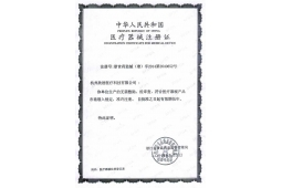 Medical instrument registration certificate 2
